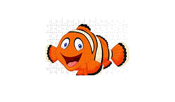 Cute clown fish cartoon Puzzle - sonstige, siehe Liste unten: Amazon ...