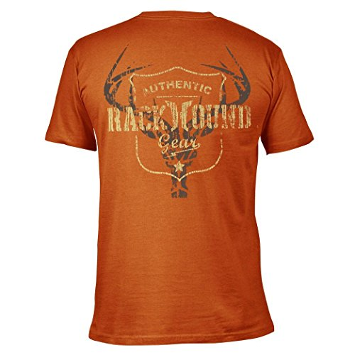 RackHound Herren T-Shirt Austin, Herren, Burnt orange, 2X - Burnt Orange T-shirt