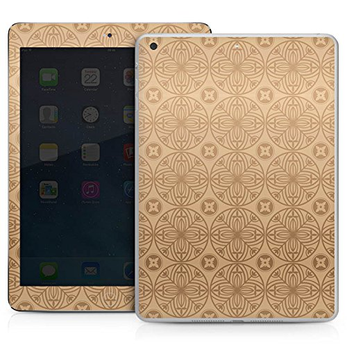 Manor-konsole (Apple IPad Air Case Skin Sticker aus Vinyl-Folie Aufkleber Blume Flower Muster)