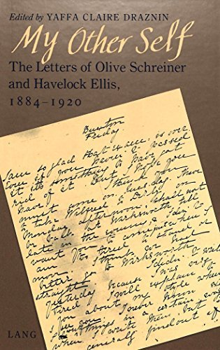my-other-self-the-letters-of-olive-schreiner-and-havelock-ellis-1884-1920-by-yaffa-claire-draznin-19