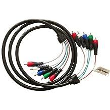 Steren 257 – 606BK componente Cable de audio/vídeo – Componente para Monitor – 6