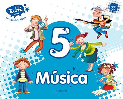 MÚSICA 5 (INCLUYE CD) - 9788468312651 por Obra Colectiva Edebé