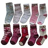 Lieblingsstrumpf24 10er Pack Kinder Socken Jungen Mädchen Baumwolle