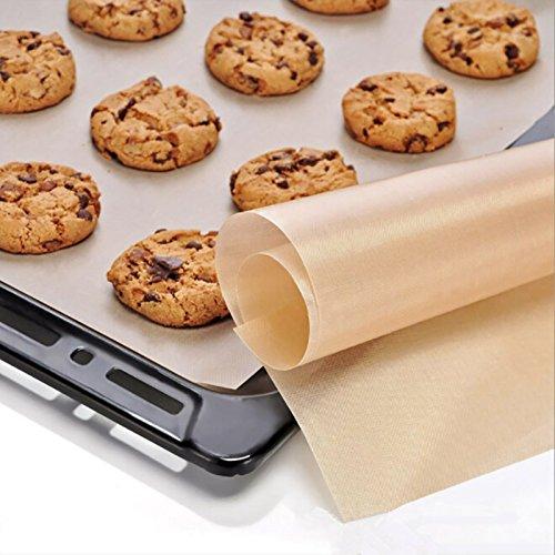 Baking Mats & Liners - 16 24 Inch Baking Mat Temperature Resistant Teflon Sheet Heat Pad Non Stick - Grill Bbq Teflon Grill Sheet Grill Charcoal Bbq Bbq Stick Teflon Mat Non Teflon Set Tef