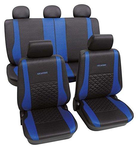 Exclusive blau 9037 Schonbezug Sitzbezug Autoschonbezug Schonbezüge für das unten angegebene Fahrzeug (Honda Accord 2008-sitzbezüge)