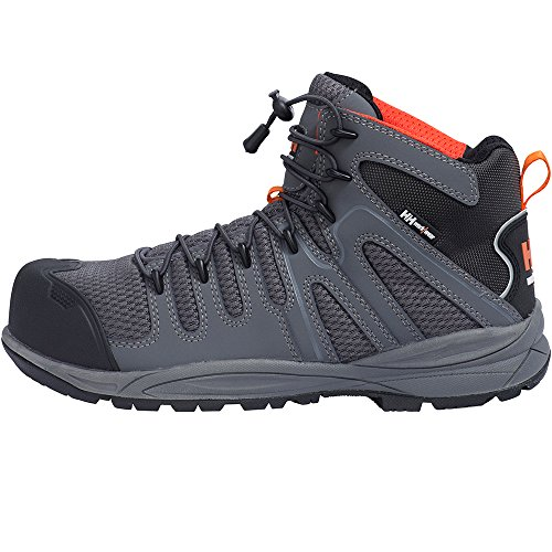 Baskets di sicurezza Bassi Flint Mid WW Helly Hansen Schwarz / Grau