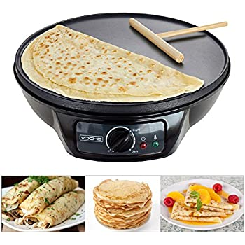 Breville Vtp130 Traditional Crepe Maker 12 Inch Black