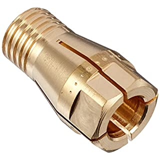 Abicor Binzel 766.1051 Contact Tip Holder for ABI MIG 535W Welding Torch, m8 Collet Chuck, 19.5 mm Length (Pack of 10)