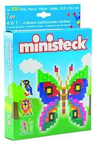 Ministeck 32529 - Juego de 500 Piezas con 4 Modelos Importado de Alemania