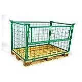 Aufsatzrahmen NH 800 mm grün 2.Wahl 10er Pack