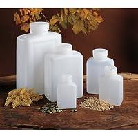 Nalgene Weithalsflaschen, rechteckig - 250 ml, Hals Ø 30 mm