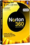 NORTON 360 V5.0 3 PC - Upgrade - inkl. Updatemöglichkeit auf Version 6.0