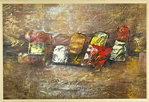 dans-le-milieu-var-4-huile-sur-toile-peinture-60-x-90-cm-61-x-914-cm-encadree-en-brown-gold-cadre-ph