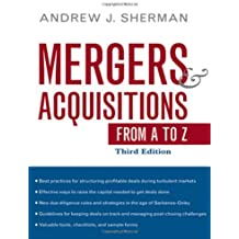 Mergers and Acquisitions from A to Z (Agency/Distributed)