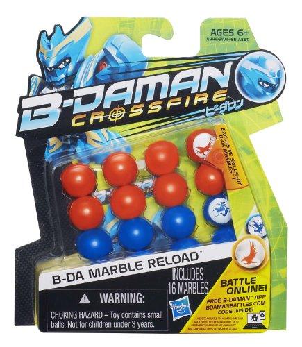 B-Daman Crossfire B-DA Marble Reload [Orange & Blue] by B-Daman