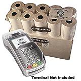 eposbits® Marke Full Größe große Rolls to Fit Verifone vx520C VX 520C Kreditkarte Terminal?20Rollen