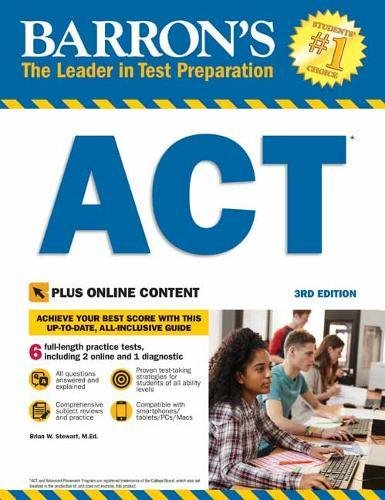 ACT: With Bonus Online Tests (Barron's)
