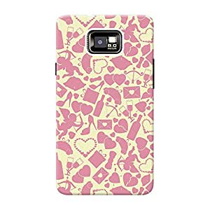 Mobile Back Cover For Samsung I9100 Galaxy S2 (Printed Designer Case)