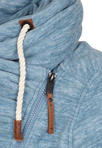 Naketano Male Zipped Jacket Gnadenlos durchgerattert Big Boobies Melange