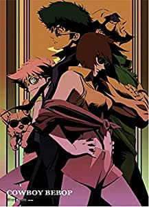 Officially Licensed Cowboy Bebop: Group Key Art Wall Scroll, 33 x 44 Inches by GE Animation
