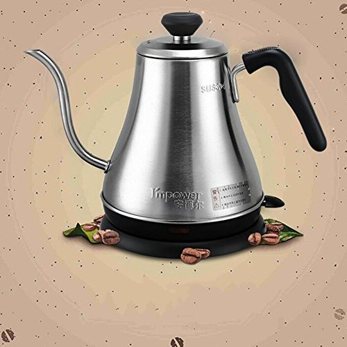 BCQ Coffee Special Hotel Buy Home Cooker Long Mouth 304 Stainless Steel Electric Kettle 0.8L 1000W Electric Kettles