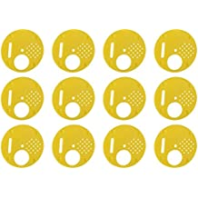 12Pcs Puertas de Caja de Colmena Entradas de Caja de Abejas Puerta de Plástica de Colmena