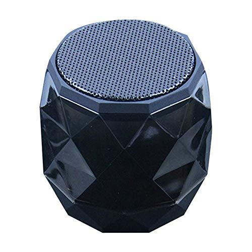 feicahnghao SpeakerWireless Mini Bluetooth Lautsprecher Kleiner Diamond Subwoofer Lautsprecher Music Fidelity Player - Unterhaltungselektronik Tragbarer Lautsprecher, Grün