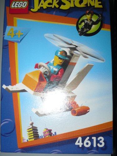 Lego 4613 Jack Stone Chopper Hubschrauber