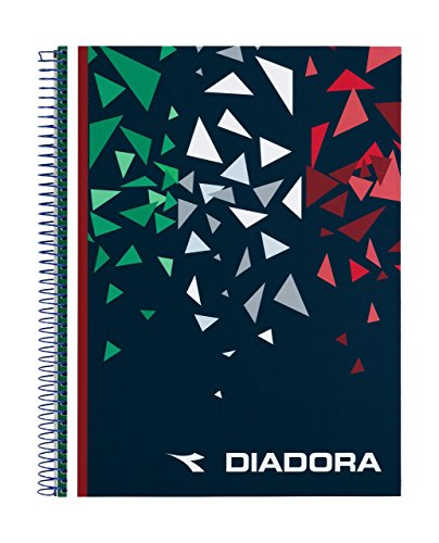 Diadora-Block A4Micro 120, Mehrfarbig (SAFTA 511619064) Micro Folio