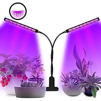 Amzdeal Pflanzenlampe Blumenlampe LED Pflanzenlicht