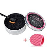 prochive Make-up-Pinsel, Professioneller Make-up-Pinsel Reiniger und Waschmaschine, Trockner, Bürste Farbe entfernen Schwamm, schnelle Tägliche von trockene Schwammpads entfernt