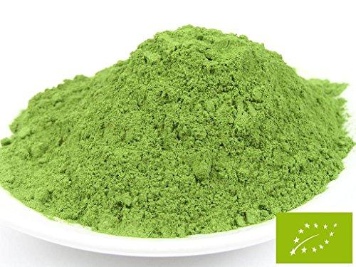 pikantum Bio Weizengras Pulver | 100g | für grüne Smoothies und Shakes | reines Bio Weizengras gemahlen aus Deutschland | ohne Zusätze | vegan | glutenfrei