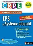 Image de Annales CRPE Oral : EPS et Système éducatif