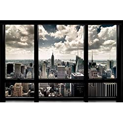 Grupo Erik Editores Poster New York Window