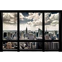 Grupo Erik Editores   Poster New York Window