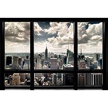 Grupo Erik Editores New York Window - Poster