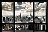 HappyFans Grupo Erik Editores Poster New York Window