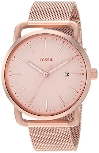 Fossil Analog Rose Gold Dial Women's Watch-ES4333