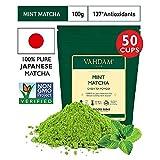 VAHDAM, Minze Matcha Grüner Tee | 100% REINER japanischer Herkunfts-Matcha-Teepulver | 137x...