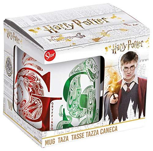 HARRY POTTER Taza ceramica caja regalo Houses' Tazas