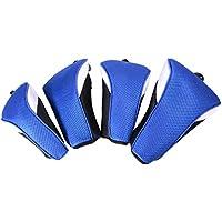 XCSOURCE 4pcs Golf Club di legno Lama Sacca copertura della testa sintetico Mesh Interchange protezione Boot Putter Set blu OS731