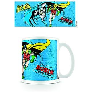 DC Universe Originals Batman & Robin 11oz/315ml Kaffeetassen Mehrfarbig