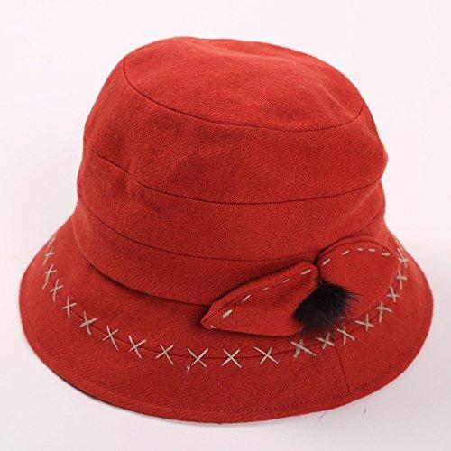 Automne et Hiver Diaoqi Chapeau chaud, chapeau à capuchon Chapeau de pêcheur Chapeau géométrique d'impression de motif ( couleur : 1 ) 4