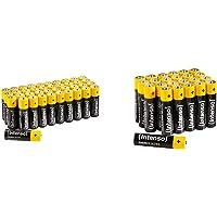 Intenso Energy Ultra AA Mignon LR6 Alkaline Batterien 40er Pack & Energy Ultra AAA Micro LR03 Alkaline Batterien 24er…