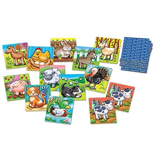 Imagen principal de Orchard Toys - Juego de memoria, diseño de animales de granja