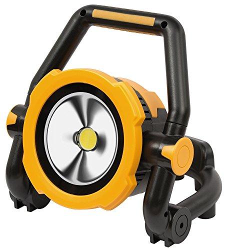 Brennenstuhl Mobile Akku LED-Leuchte / LED Strahler mit Akku (Außenleuchte 30 Watt, Baustrahler IP54, Fluter Tageslicht) schwarz/gelb -