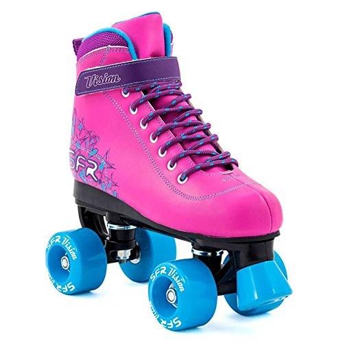 Sfr Skates RS239, Pattini Unisex - Adulto, (Rosa/Blu), 38