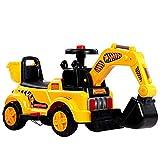 Kinder Elektrobagger, Sitzbagger für Kleinkinder, Elektro Bagger Kinderauto Kinderfahrzeug Spielzeug