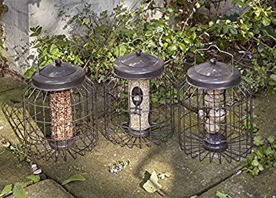 Gardman Heavy Duty Squirrel Proof Seed Bird Feeder by Gardman