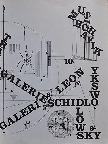 Leon Schidlowsky - Musikalische Graphik. Staatsgalerie Stuttgart 16. November bis 17. Dezember 1979